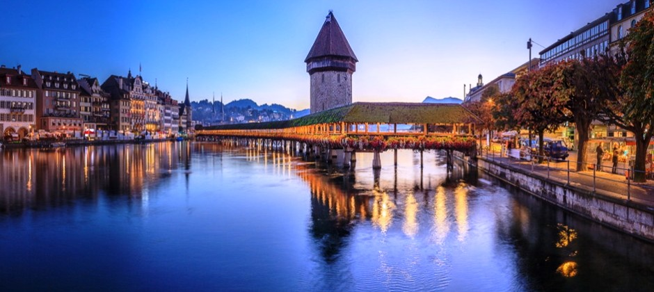 Arrive Zurich – Lucerne | Zurich Orientation city tour | Lucerne Walking City tour