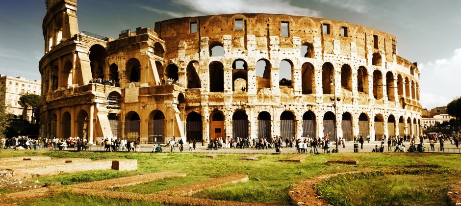 Arrive Rome | Afternoon City tour with Colosseum