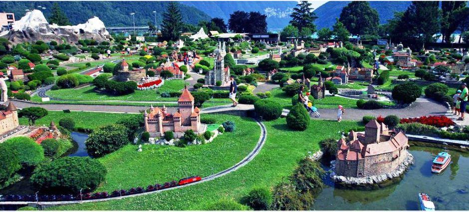 Engelberg | Excursion to Lugano – Visit Swiss miniature