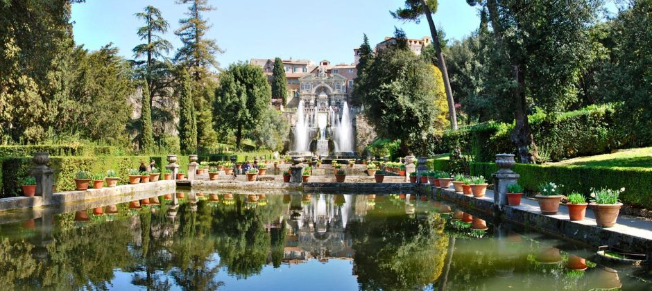Rome - Florence | Enroute visit Villa Adriana and Villa D'Este | Walking tour of Florence