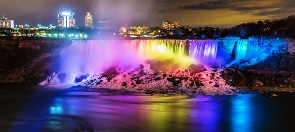 Niagara Falls | Visit Niagara Adventure theater & watch Imax Show