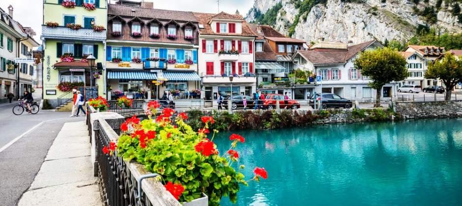 Lausanne – Interlaken (ca. 400 km)