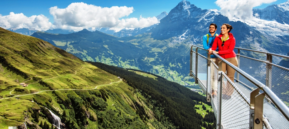 Visit to Kunsthaus Interlaken OR Optional Jungfrau Mountains