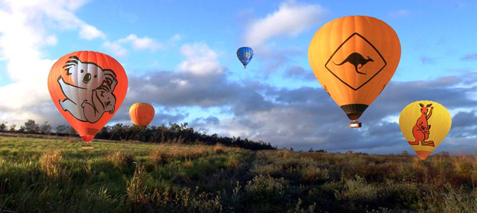 Hot Air Balloon with Breakfast- Gold Coast –Brisbane – Cairns
