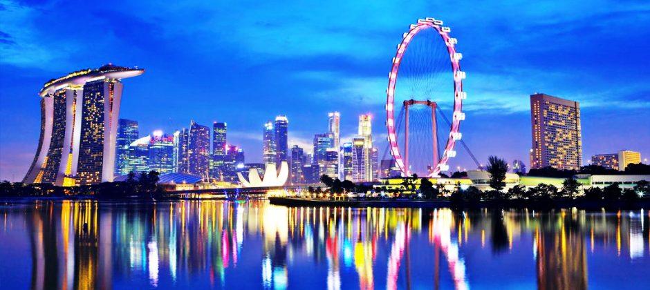 ARRIVE SINGAPORE - (14:00 HRS)