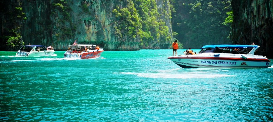 Krabi 4 Island Tour from Phuket by Ferry + Thai Lunch (Wed/Fri/Sun only) (B,L)