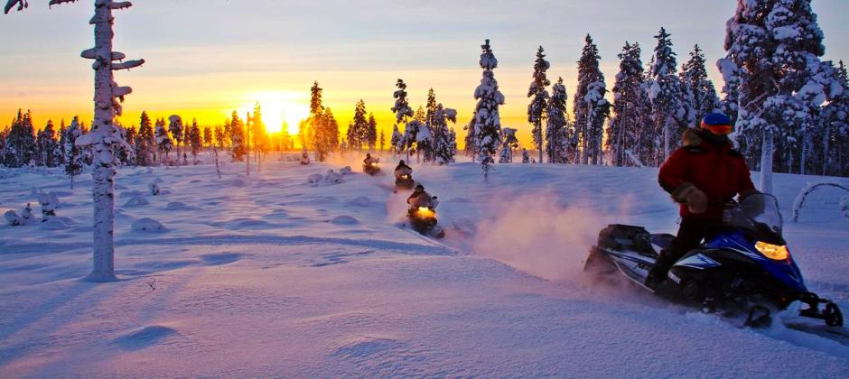 Snowshoes,  Ice Fishing and Northern Lights  Safari