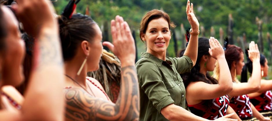 Wellington to Rotorua: Te Po Maori Concert with Hangi
