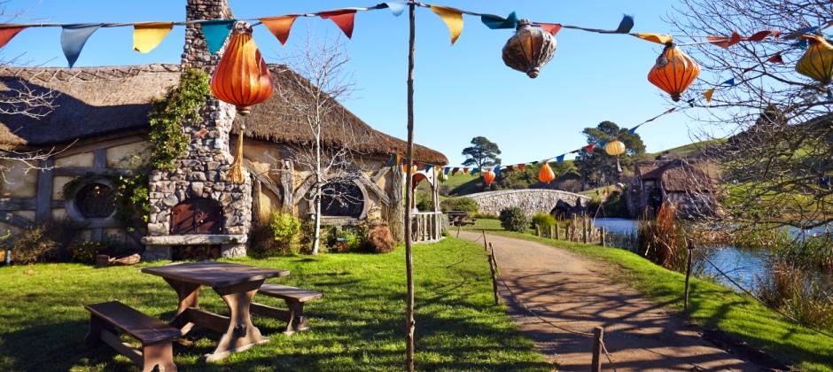 Rotorua Hobbiton Movie set