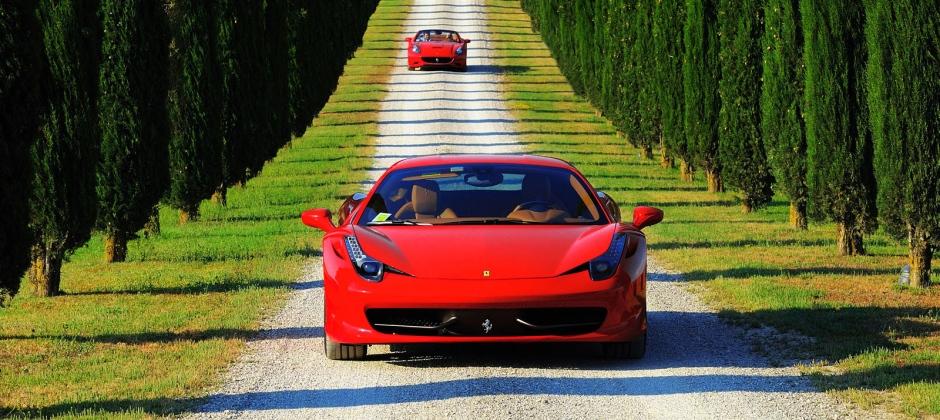 Italia In Ferrari