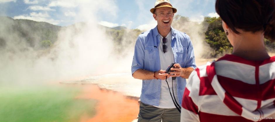 Rotorua: Te Puia Thermal Reserve, Rainbow Springs, Agrodome Sheep Show And Te Po Maori Concert With Hangi