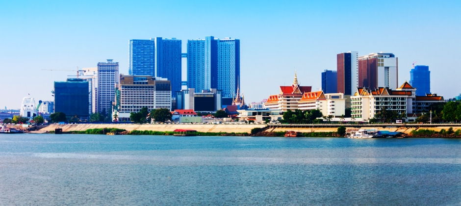 Arrival Phnom Penh