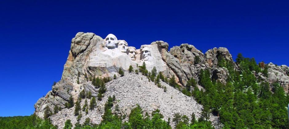 Rapid City :  Mt. Rushmore