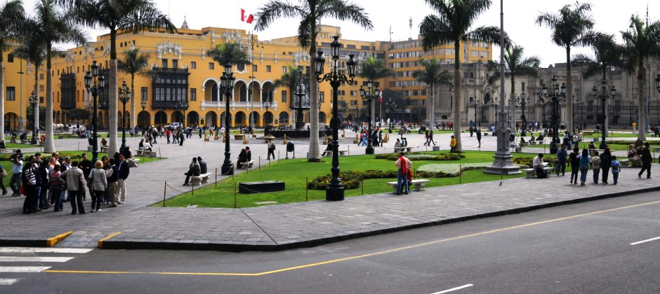 Arrive Lima :  City Tour