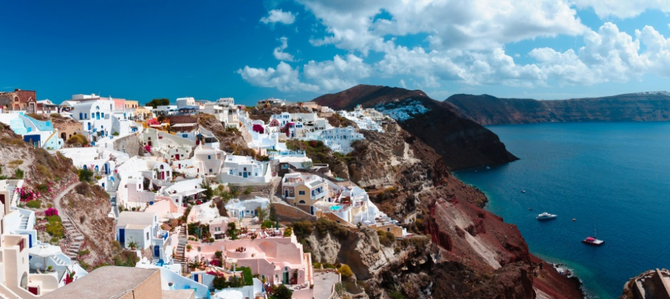 Santorini :  Visit Volcano, Thermal Springs