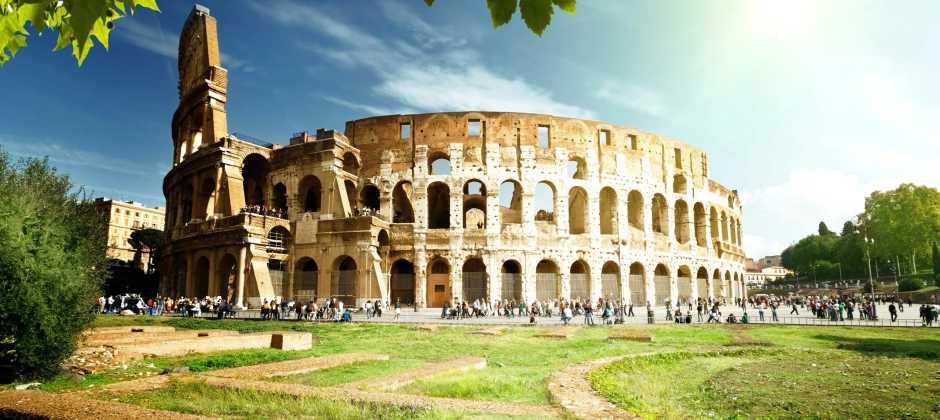 Arrive Rome
