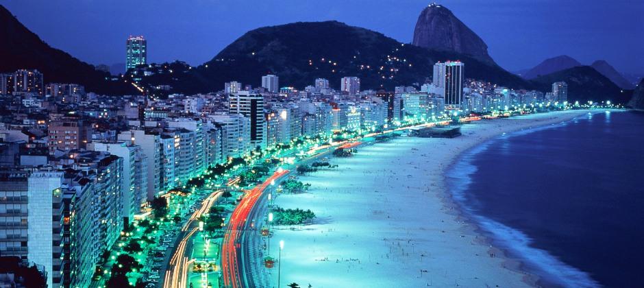 Arrive Rio de Janeiro