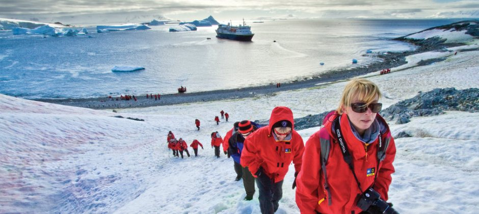 Antarctica on National Geographic Explorer