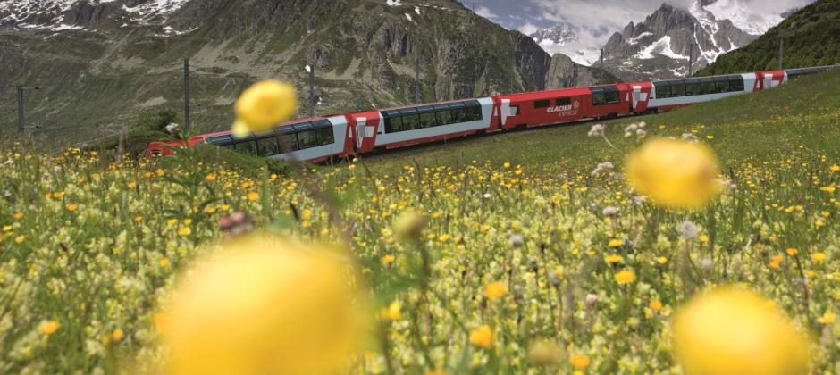 St.Moritz - Zermatt by Glacier Express