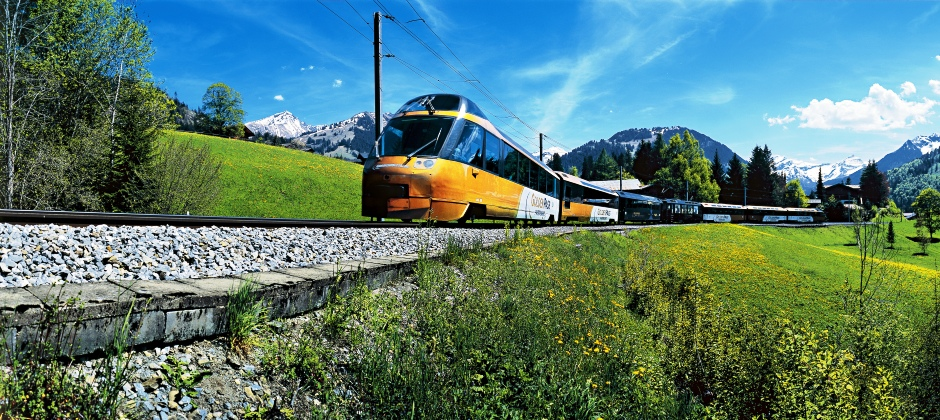 Montreux- Interlaken: On Golden Pass Line