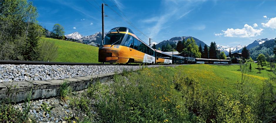 G' Staad- Zermatt via Montreux with Golden Pass Line