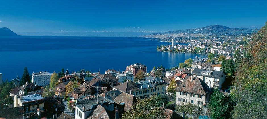 Arrive in Geneva - Montreux